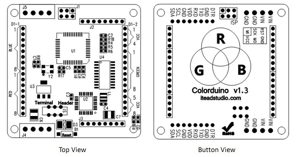 Colorduino hardware