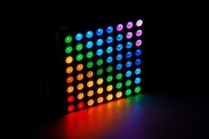 Actual effect of Colorduino